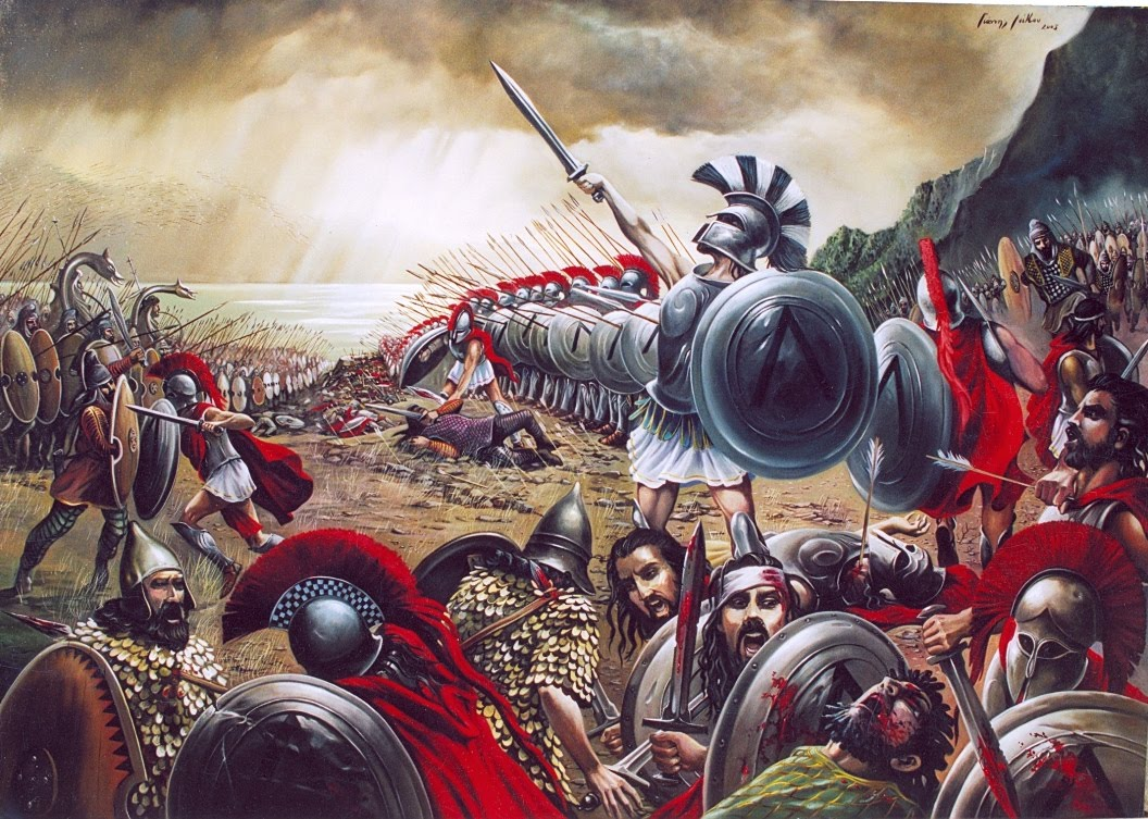 battle of the 300 spartans